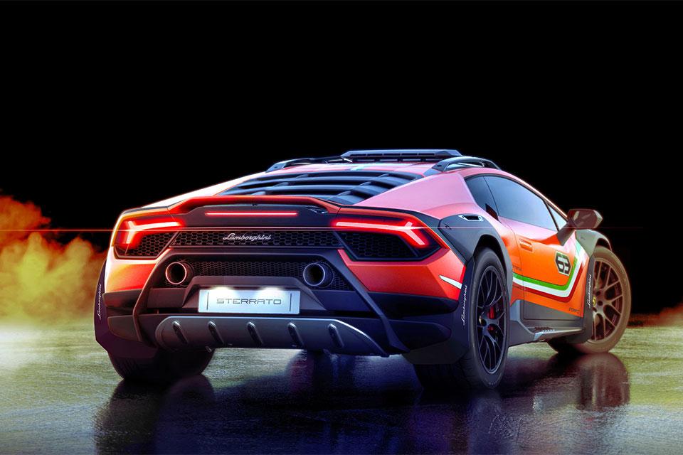 Lamborghini Huracán Sterrato Off-road Supercar