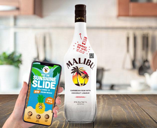 Malibu NFC Connected Bottle