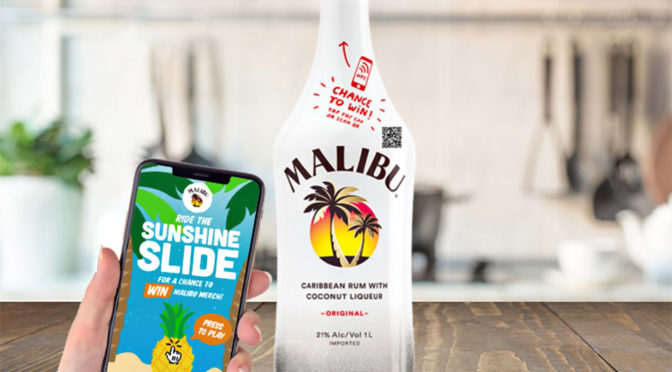 You Can Tap On Malibu NFC Bottle Cap For A Chance To Win Exclusive Prizes