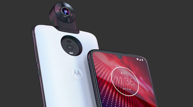 Motorola's New Moto Z<sup>4</sup> Is A 4G Phone That's Upgradable To 5G