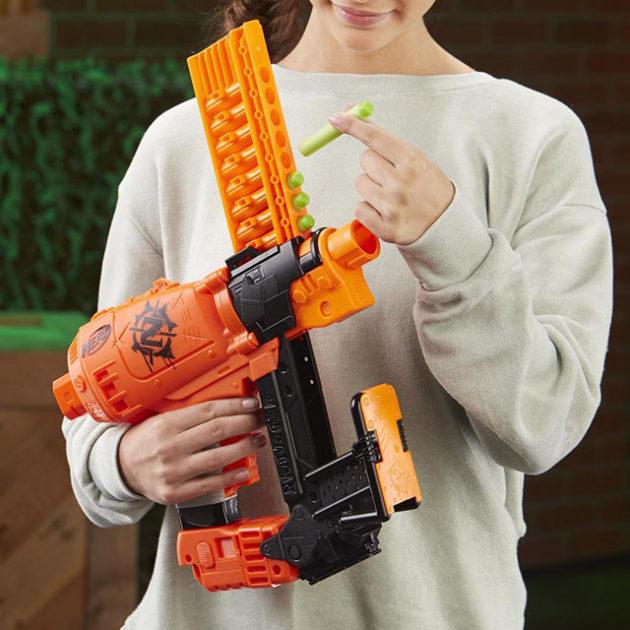 NERF Nail Gun-inspired Blaster