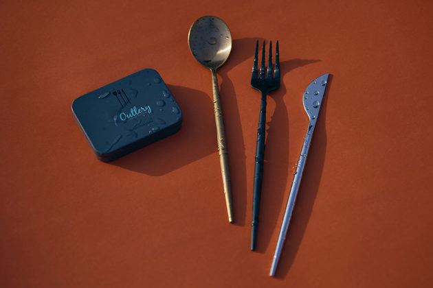 Outlery Pocket-sized Reusable Cutlery