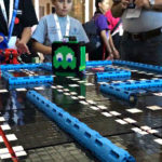 These Kids Created A Real-life, Playable Pac-Man Game Out Of LEGO