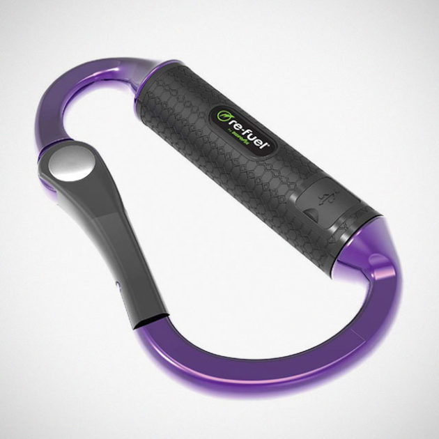 Re-Fuel Powerbiner Carabiner Power Bank