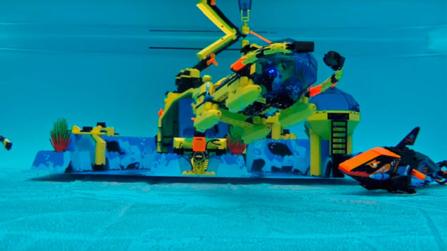 Real LEGO Submarines by Adam Woodworth