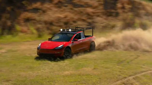 Simone Giertz Tesla Pickup Truck