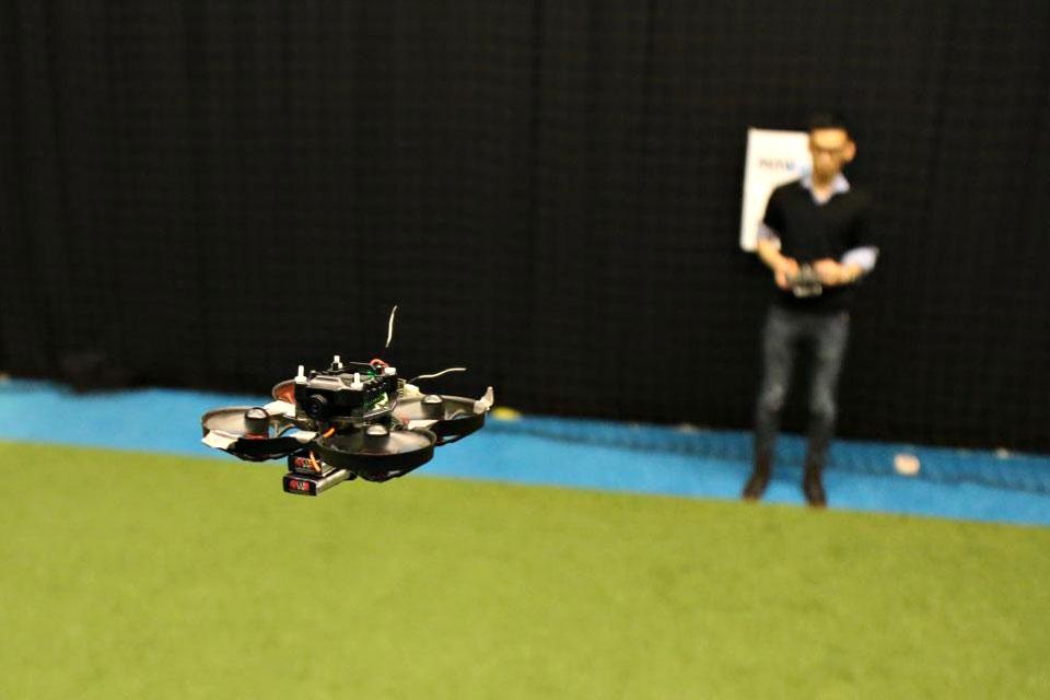 TU Delft 10cm Autonomous Racing Drone