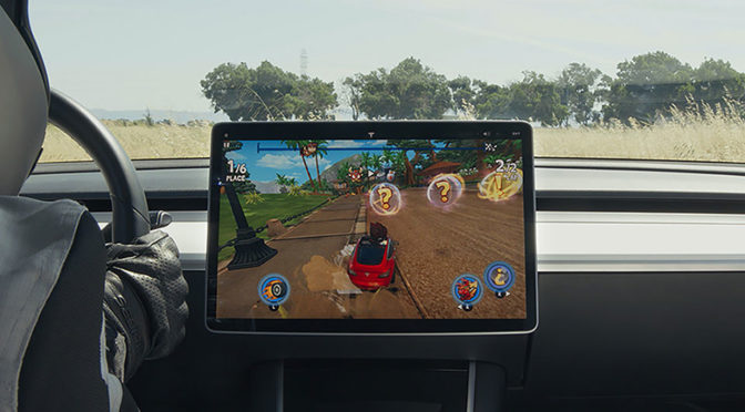 Tesla Invites You To Play Arcade Games In Its Cars At Its Showrooms