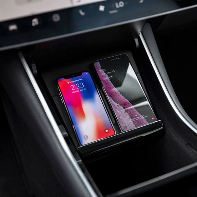 Tesla Model 3 Wallpaper Iphone: Tesla Finally Launches Official Wireless Charging Pad For