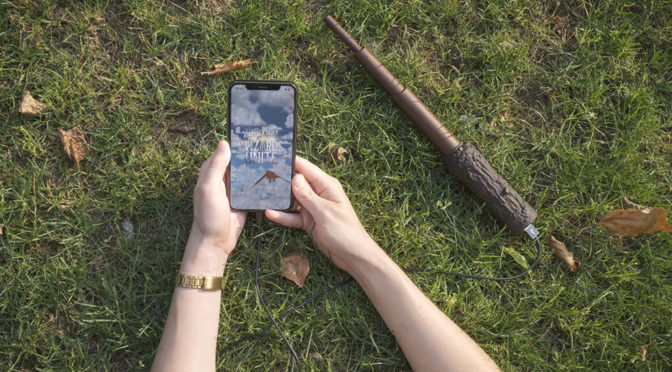 Wand Power Bank Is A Perfect For <em>Harry Potter: Wizards Unite</em>