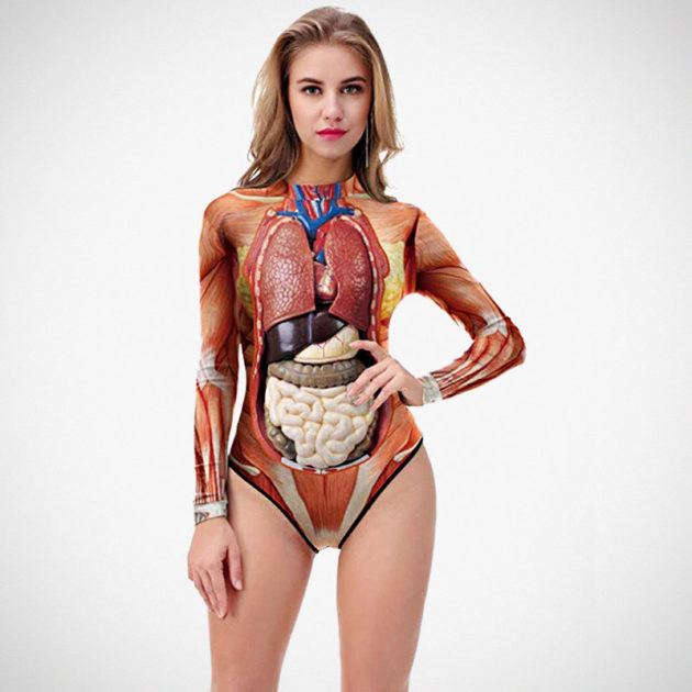 Thenice Anatomically Correct Swimsuit