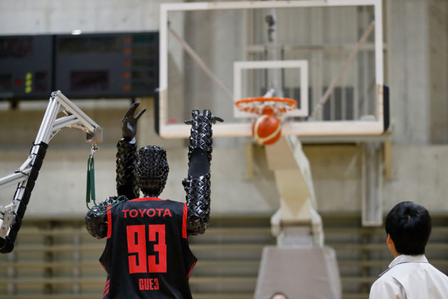 Toyota Basketball Free Throw Robot