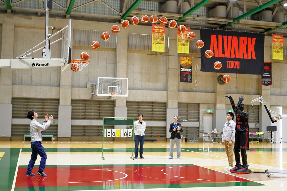 Toyota Basketball Free Throw Robot