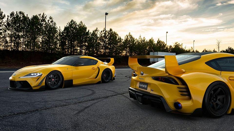 Toyota Supra Targa And Tuned Supra