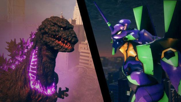 USJ Godzilla Vs. Evangelion 4D Attraction