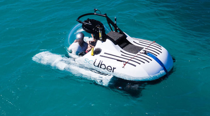 Uber scUber Ride-sharing Submarine