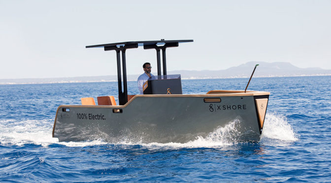 X Shore 100% Electric Yacht