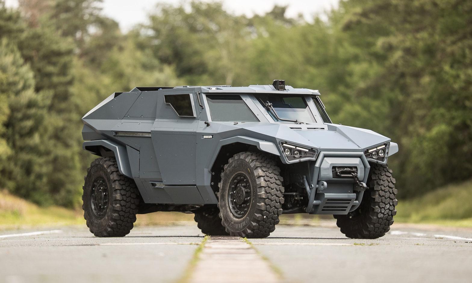 Arquus Scarabee Hybrid Armored 4x4