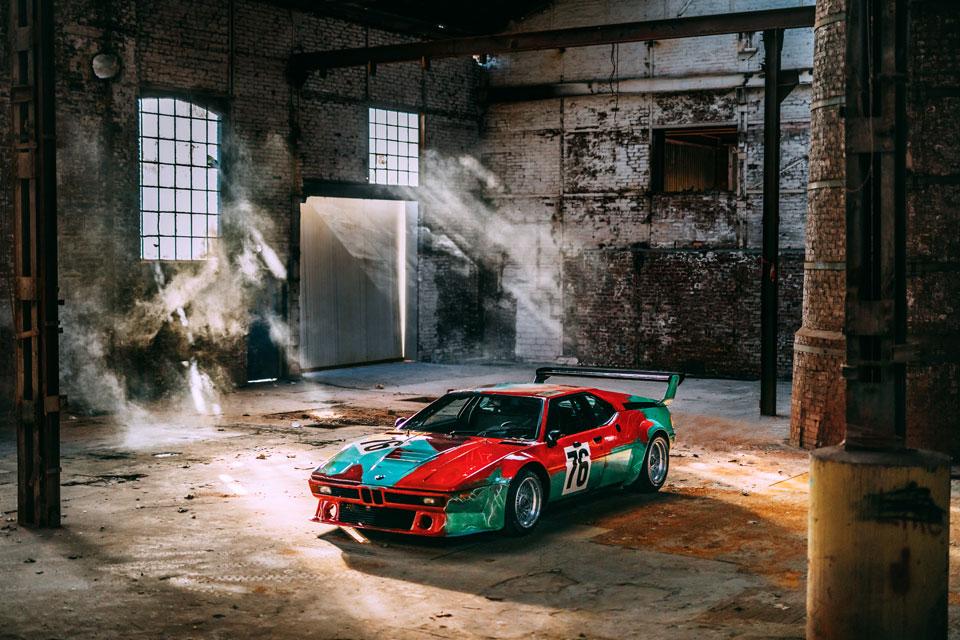 BMW Art Car Number 4 by Warhol Design
