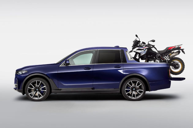 One Off BMW X7 Pickup Truck