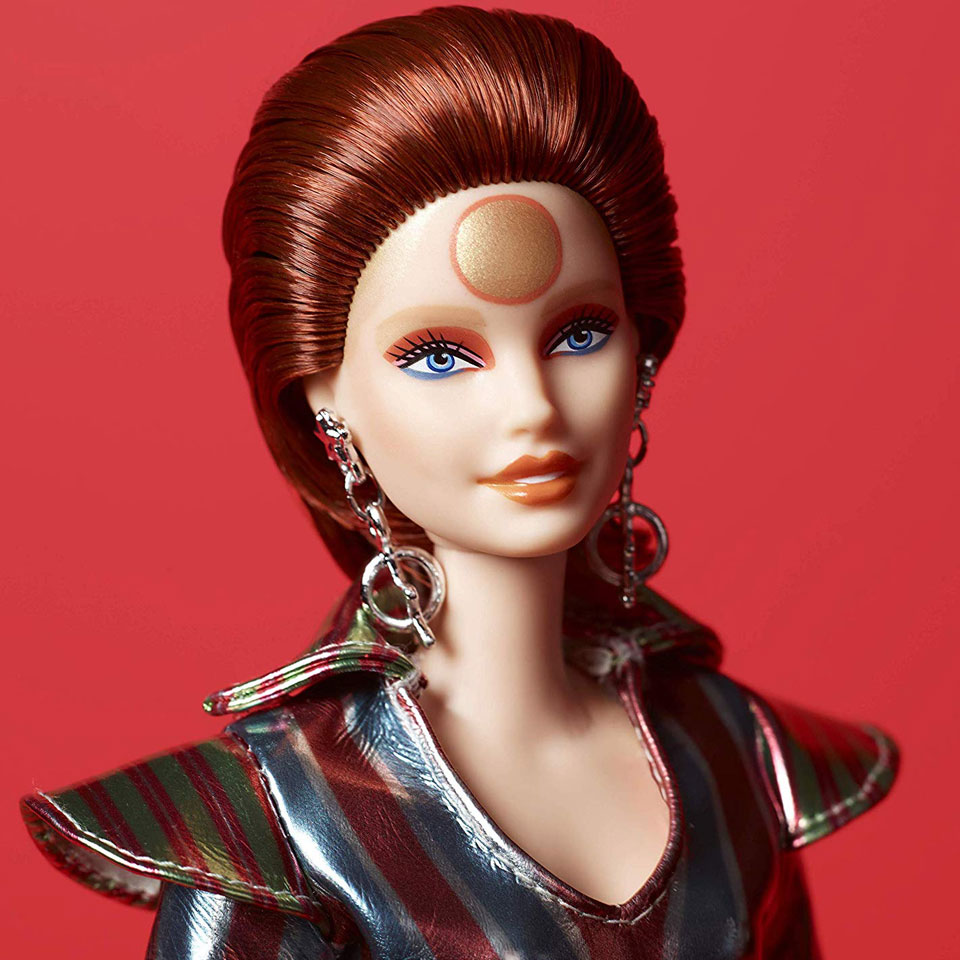 Barbie David Bowie Doll by Mattel