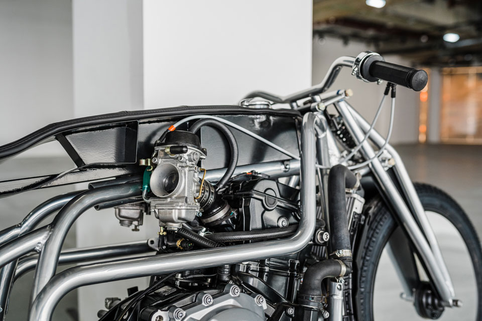 Bauhaus 100 Custom Bike by Krautmotors