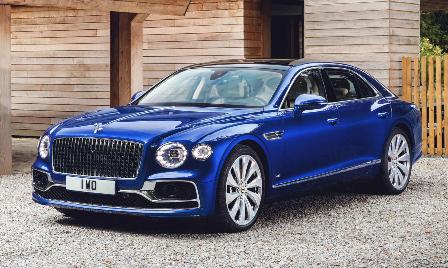 Bentley Flying Spur for Elton John Aids Foundation Gala