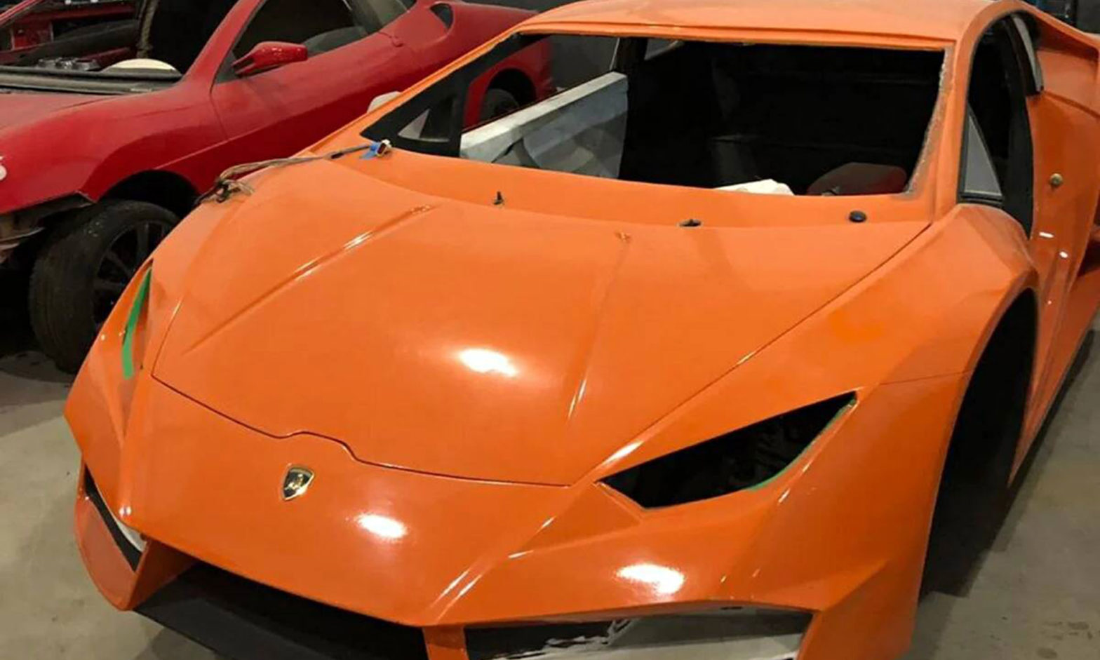 Brazilian Fake Ferrari Factory Busted
