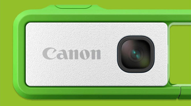 Canon IVY REC Clippable Outdoor Camera