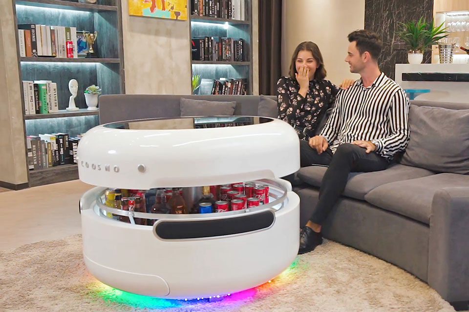 This Ambitious Coffee Table Is Also A Fridge, A Bluetooth ...