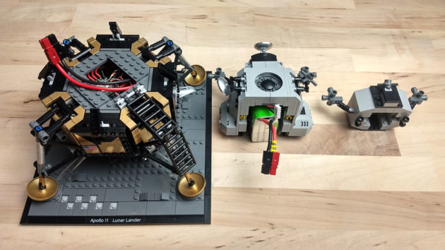 Flying LEGO NASA Apollo 11 Lunar Lander