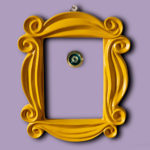 Here's The Officially-licensed <em>Friends</em> Yellow Peephole Photo Frame Money Can Buy