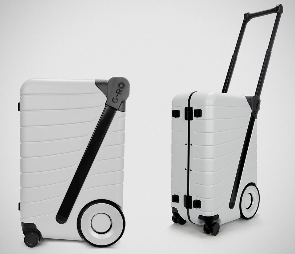G-RO The Six Push Carry-on Luggage