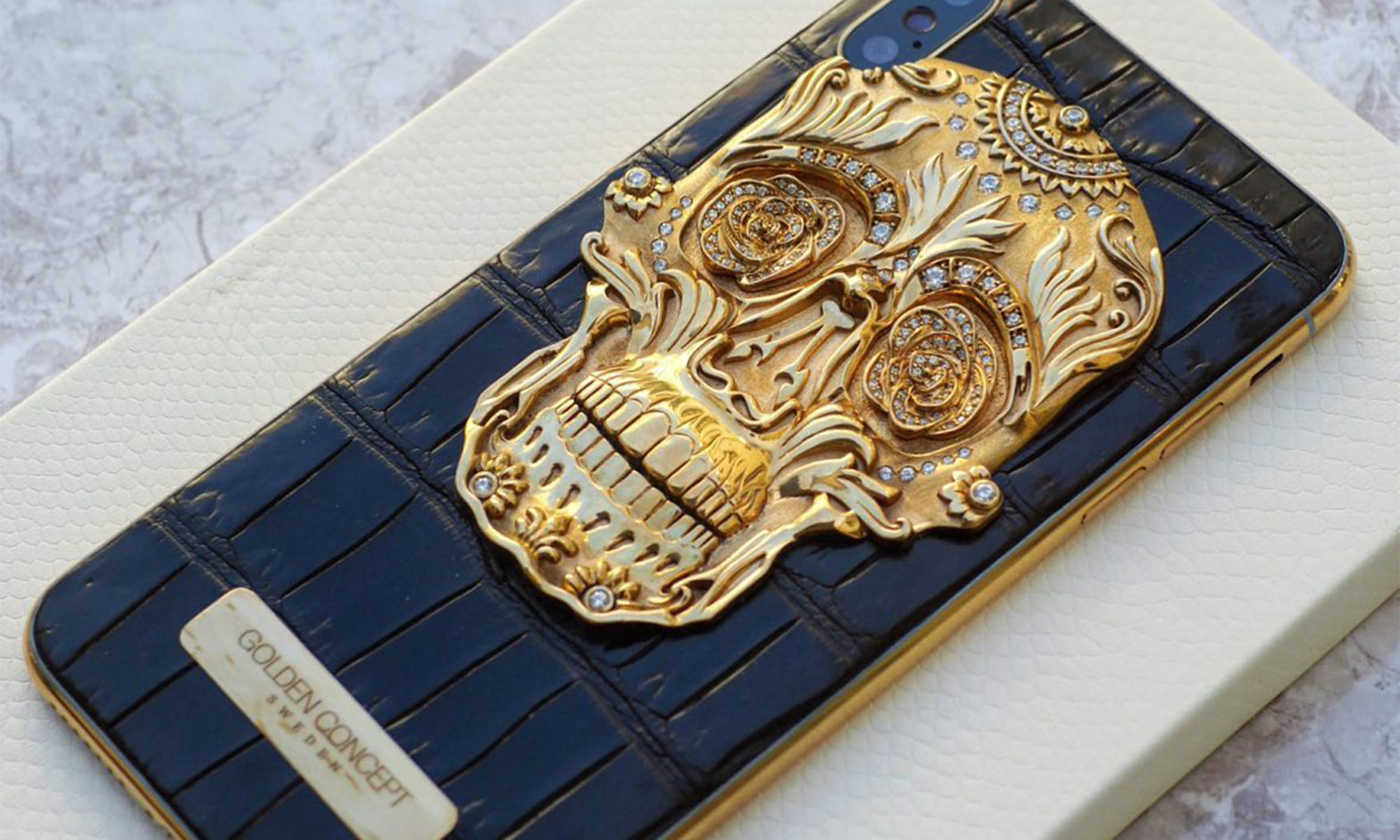 Golden Concept iPhone Sugar Skull Edition