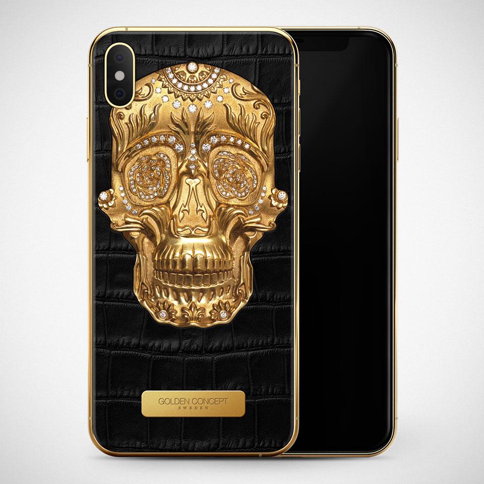 Golden Concept iPhone Sugar Skull Edition