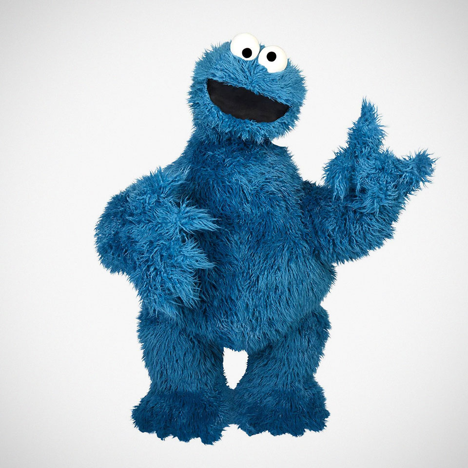 Hasbro Full-sized Replica Cookie Monster