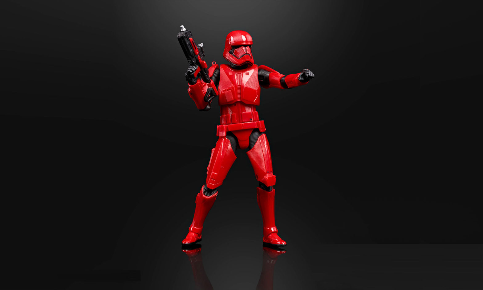 Hasbro and Hot Toys Sith Trooper Action Figure