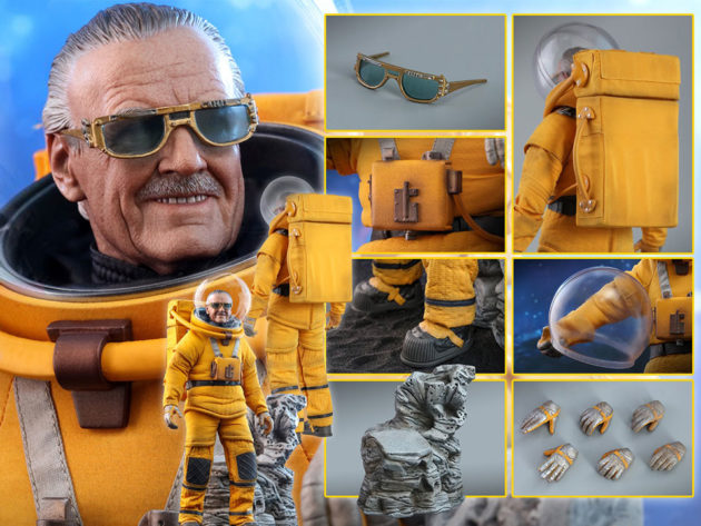 Hot Toys GOTG Vol. 2 Stan Lee Figure