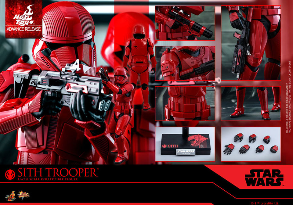 Hot Toys Sith Trooper 1-6th Scale Figure