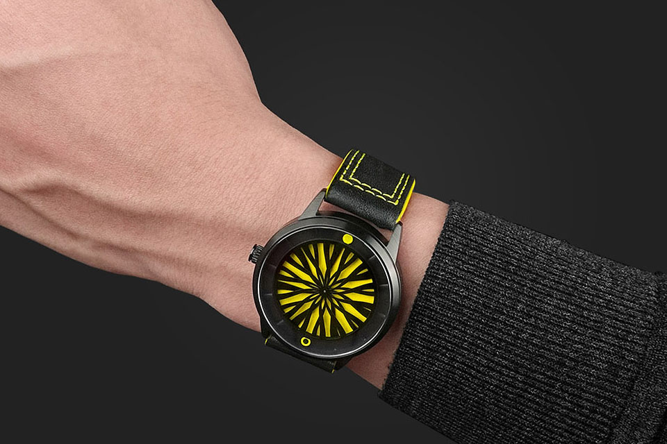 Humism Kinetic Art Wrist Watches