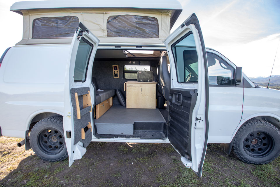 Jimmy Chin Chevrolet Express 2012 For Rent