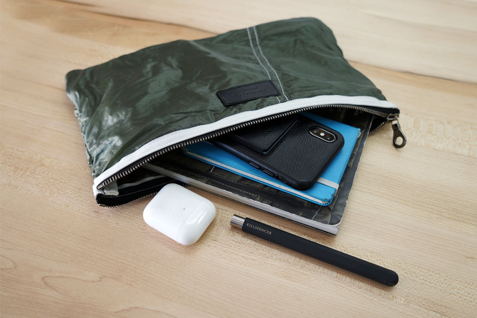KILLSPENCER Parachute Zippered Pouch
