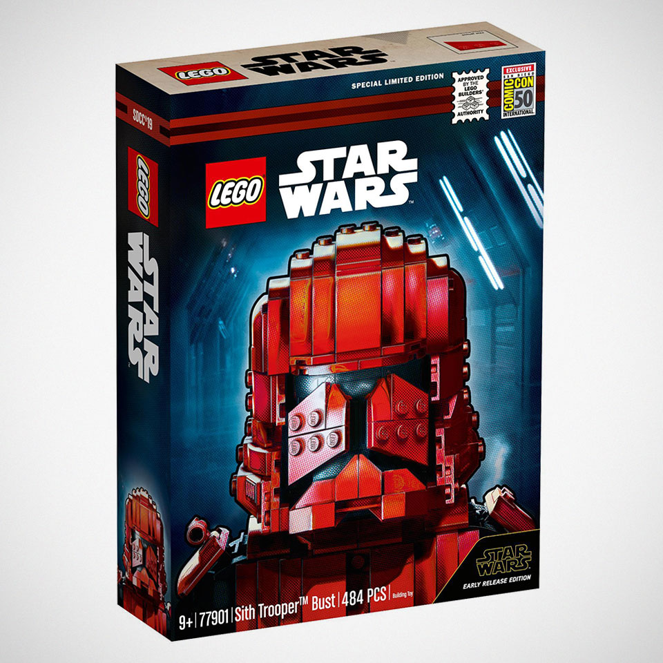 LEGO 77901 Sith Trooper Bust Early Release Edition
