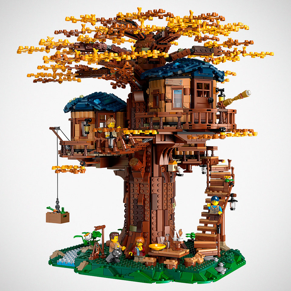Lego Ideas Tree House Set Revealed And It Is Perhaps The