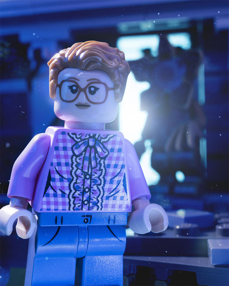 LEGO Stranger Things Barb Minifigure