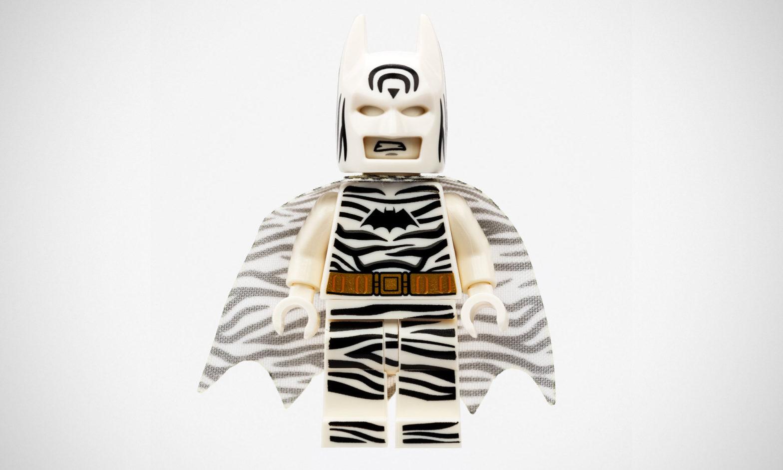 LEGO Zebra Batman Minifigure SDCC 2019