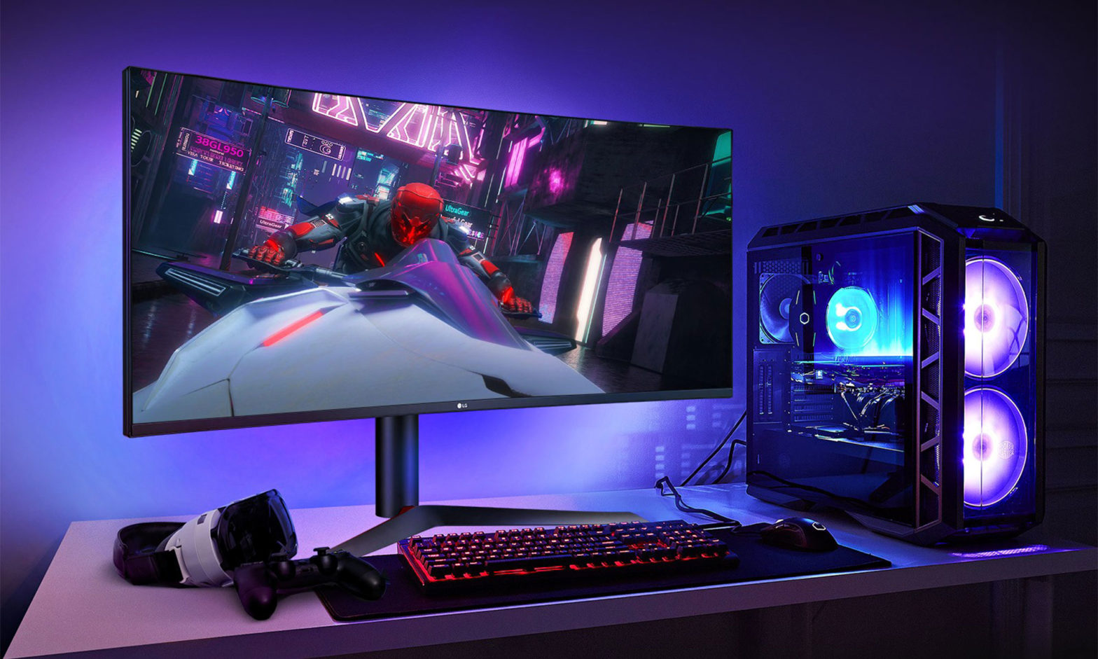 LG UltraGear Nano IPS Gaming Monitor