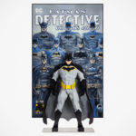 LEGO Unveiled The Third Brick-built Character For SDCC And It Is A <em>Batman</em> With Comic Cover Mural
