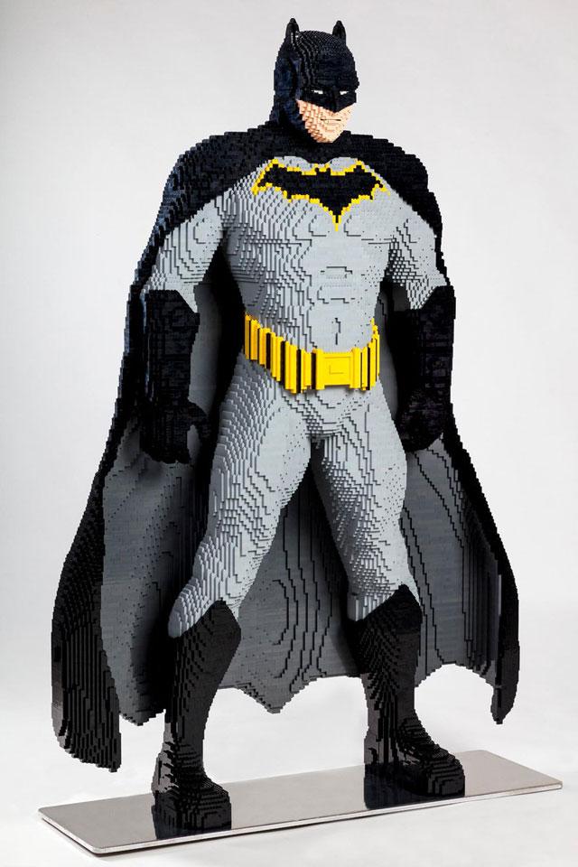 Life-size LEGO Batman for SDCC 2019