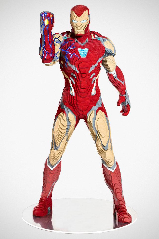 Life-size LEGO Iron Man for SDCC 2019